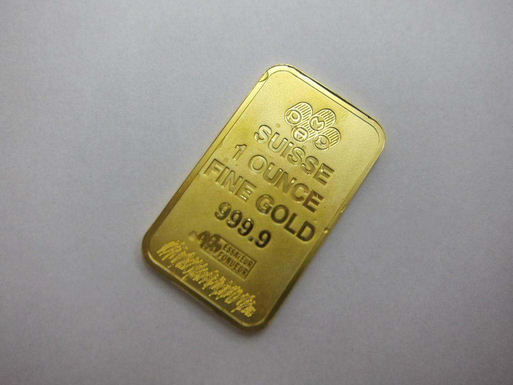 純金プレート k24金 999.9 インゴット 純金製品 買取 買取 大阪神戸