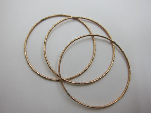 k10金 バングル ブレスレット 金刻印なくても買取可能