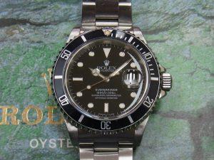 ロレックス 高価買取 16610 SSサブマリーナデイト 旧型 97年製