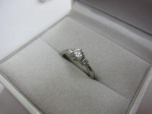 pt900 ダイヤモンドリング 鑑定書が無くても買取可能 大阪神戸