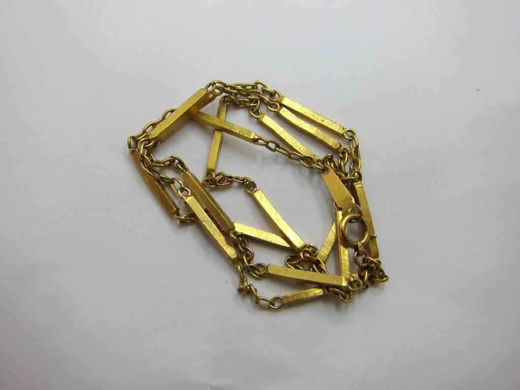 デザインが古いk18金デザインネックレス 買取 大阪神戸