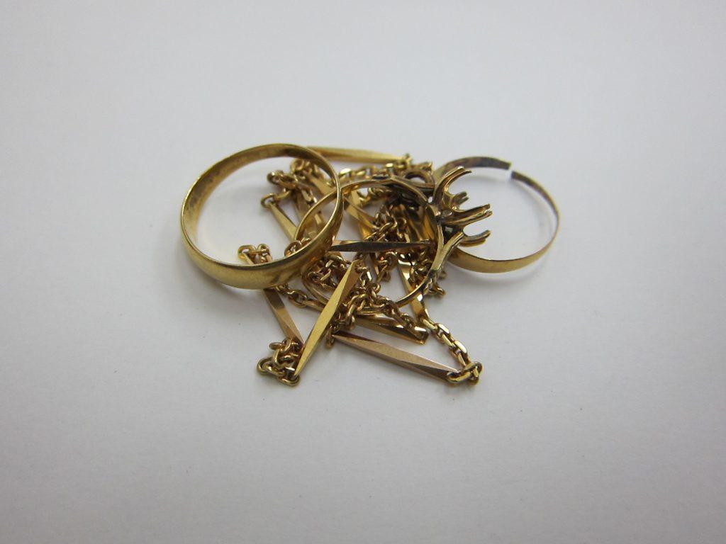 k18金使えなくなった切れたリング ネックレス 買取 大阪神戸