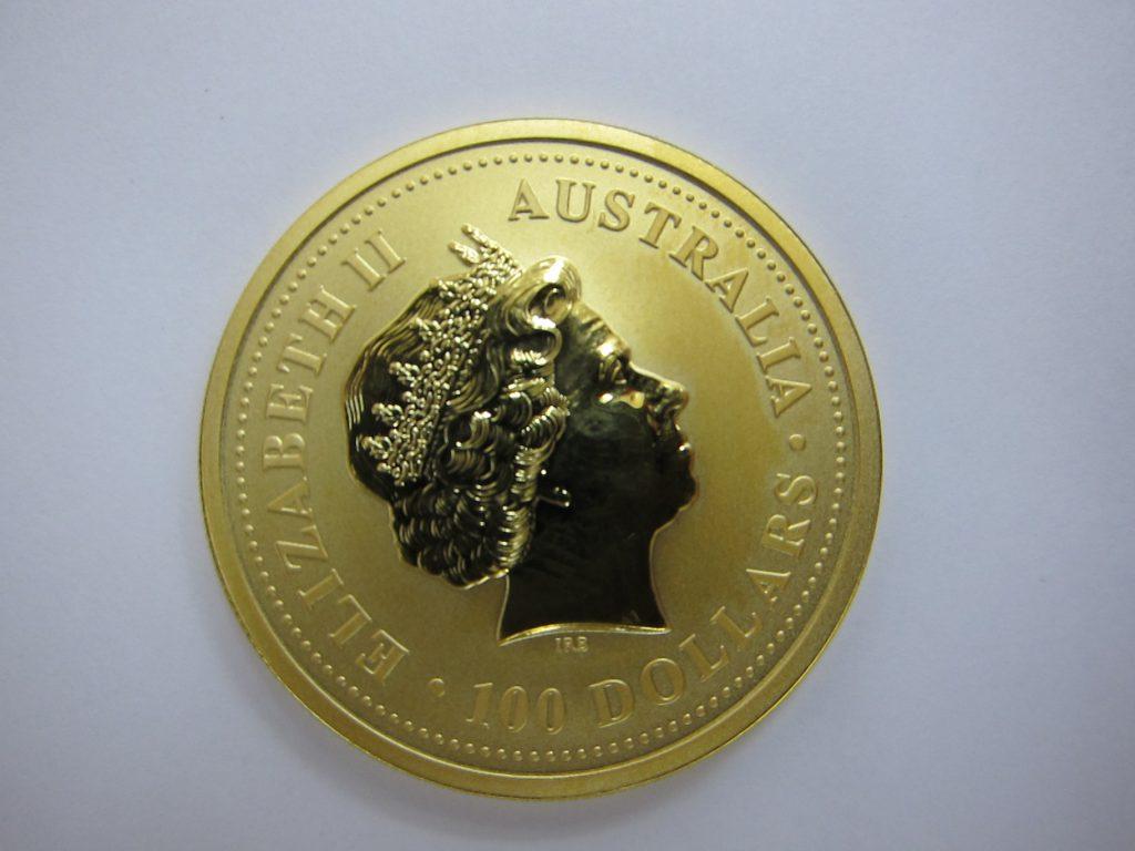 カンガルー金貨 オーストラリア 1オンス  k24金 純金 買取 大阪神戸