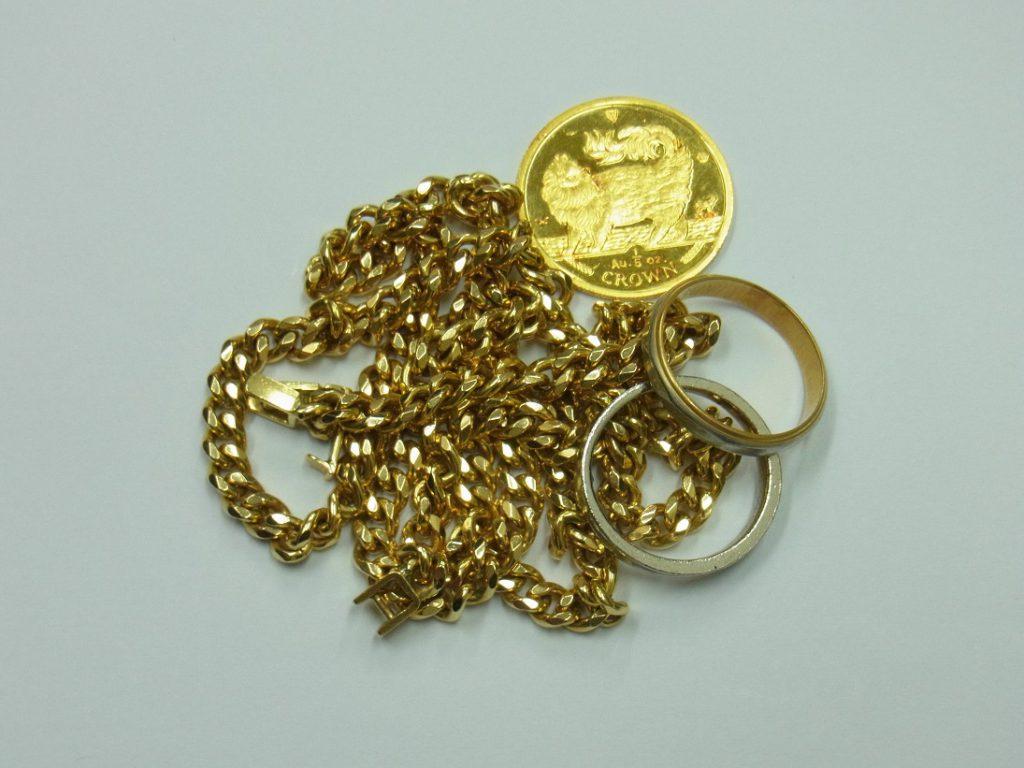 貴金属 買取 K18 K24 Pt900 土日祝も地金・コインの売却可能