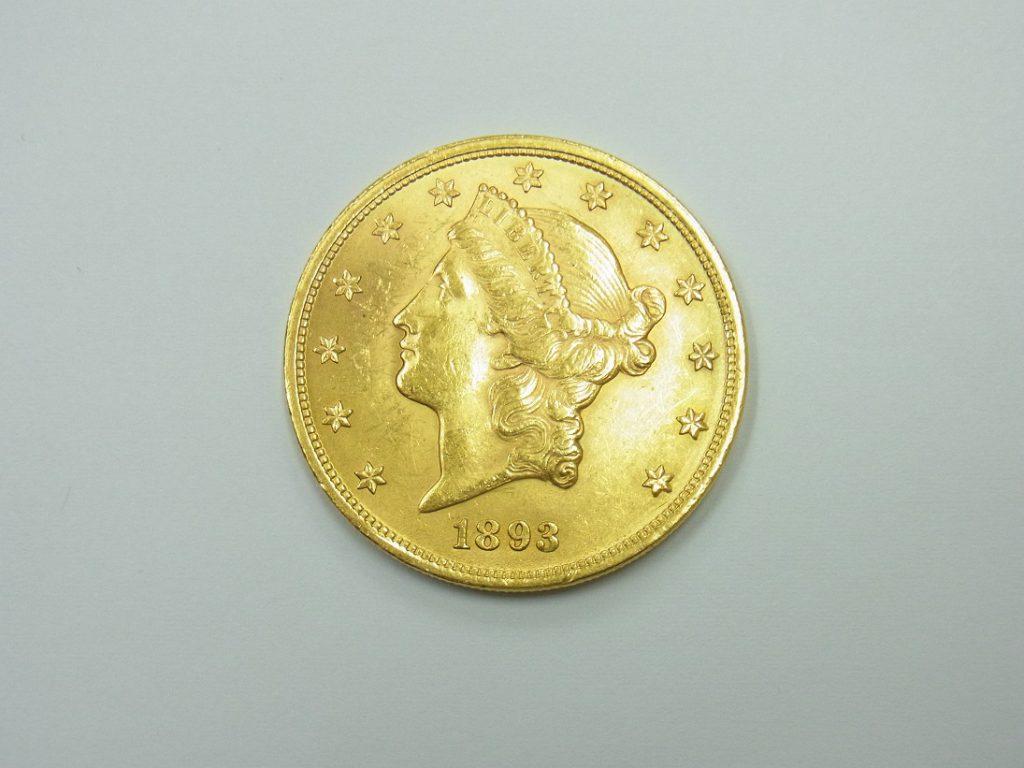 金 買取 アメリカ 20ドル金貨 金純度90% K21.6 コイン 査定額