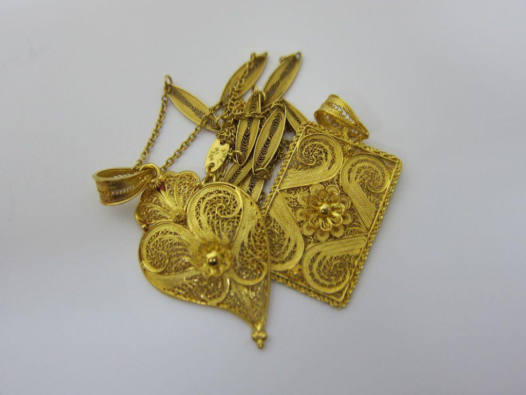 金 買取 金純度80% GOLD 19 1/4K シナ金 アクセサリー 査定
