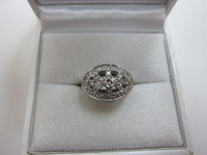 ダイヤモンド プラチナファッションリング 買取 大阪神戸