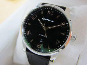 モンブラン腕時計 裏スケ 7285タイムウォーカー 買取 大阪神戸