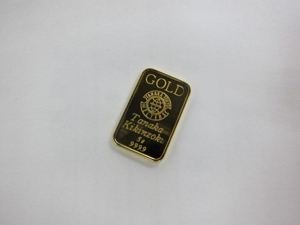 GOLD k24金 インゴット5g 999.9 買取 大阪神戸