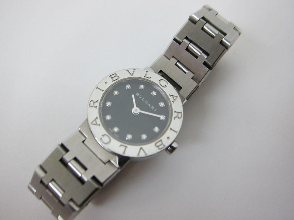 ブルガリ ウォッチ BB23SS 12ポイントダイヤモンド 買取