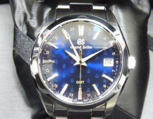 グランドセイコー 50周年記念モデル SBGN009 買取 9F GMT