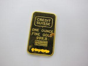 金 k24 インゴットプレート 31.1g FINE GOLD999.9 買取