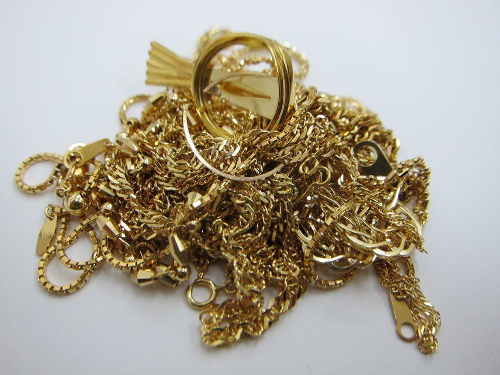k18金 ネックレス ブレスレット 相場値上がり 買取