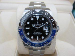 ロレックス 116710BLNR GMTマスターII 黒青ベゼル  買取