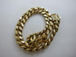 30年前の喜平 ブレスレッドネックレス k18金 貴金属 買取