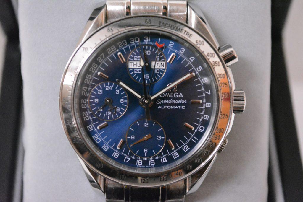 オメガ3523.80スピードマスタートリプルカレンダー高額査定