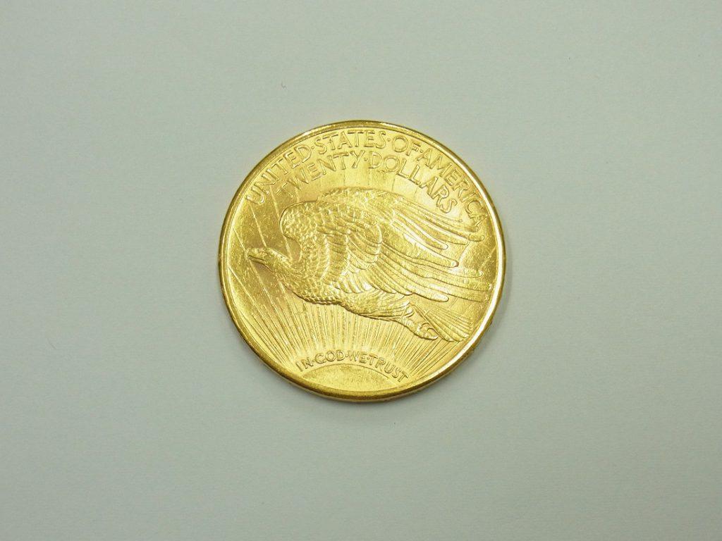 金 買取 21.6金 アメリカ20ドル金貨 ダブルイーグル 金純度90%