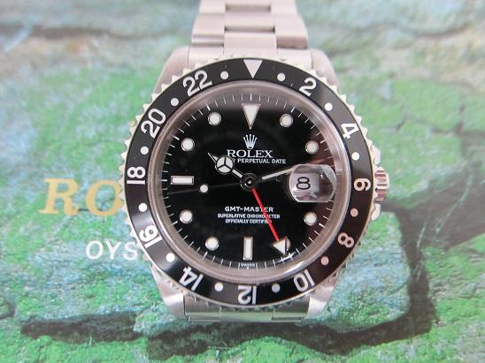 ロレックス 買取 GMTマスター 16700 黒ベゼル 99年製 査定額