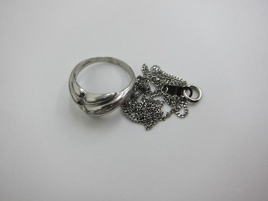 プラチナ買取 Pt900 Pt850 指輪 ネックレス プラチナ地金4524円