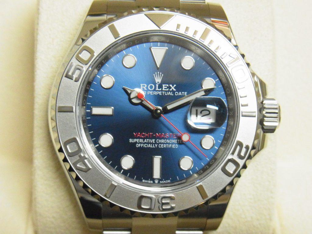 ロレックス 買取 ヨットマスター40 ロレジウム 126622 ブルー