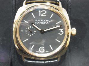 パネライ 買取 ラジオミール PG 42mm PAM00378 2011年製