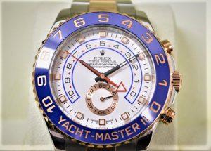 ロレックス ヨットマスターⅡ 買取 116681 ブルー針