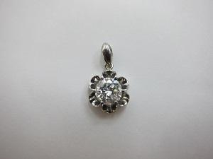 ダイヤモンドネックレストップ pt900ダイヤ1.293ct買取
