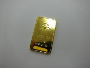 マテリアルインゴット K24 20g プラチナ 金 買取
