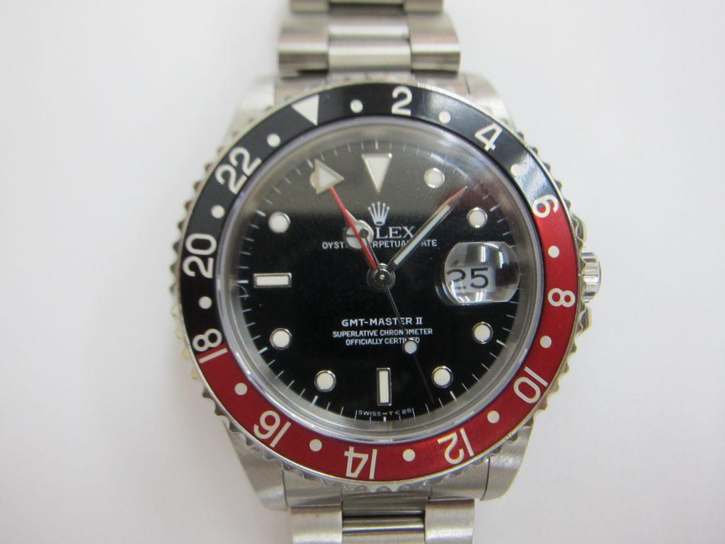 ロレックス GMTマスター2 16710 赤黒ベゼル 買取