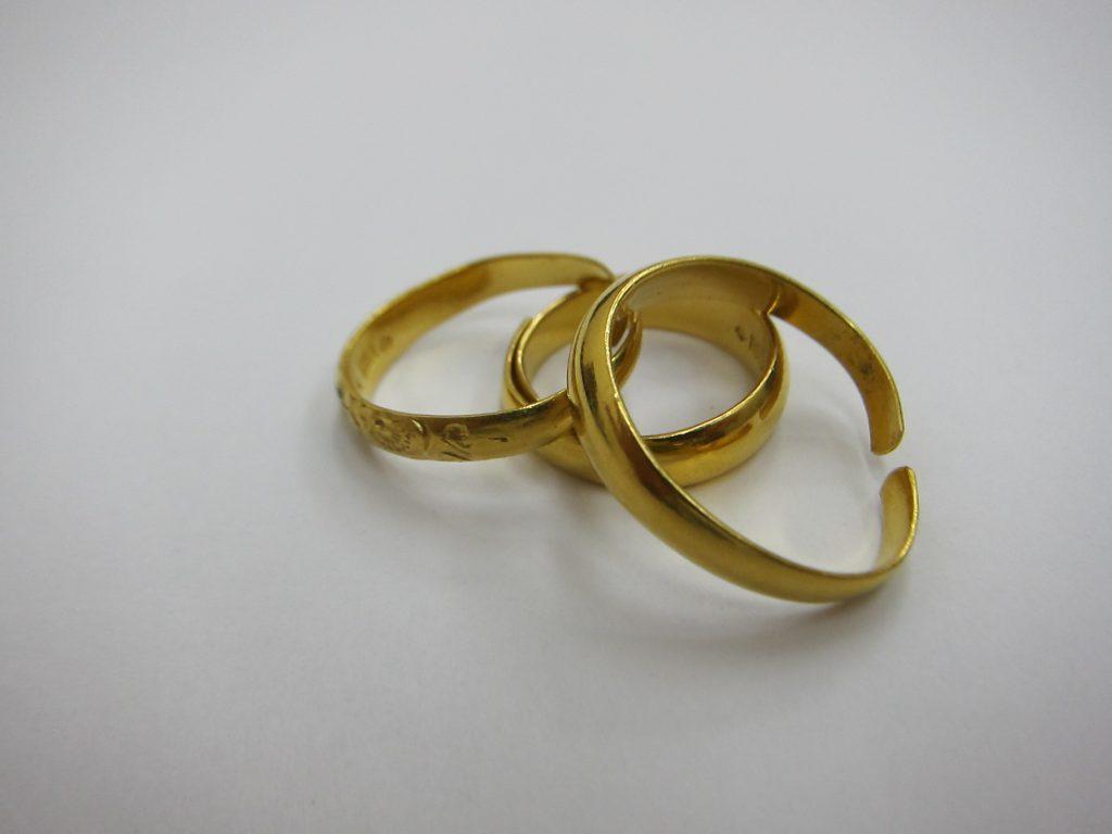 金買取 k24金リング  純金 プラチナ 貴金属 無料査定