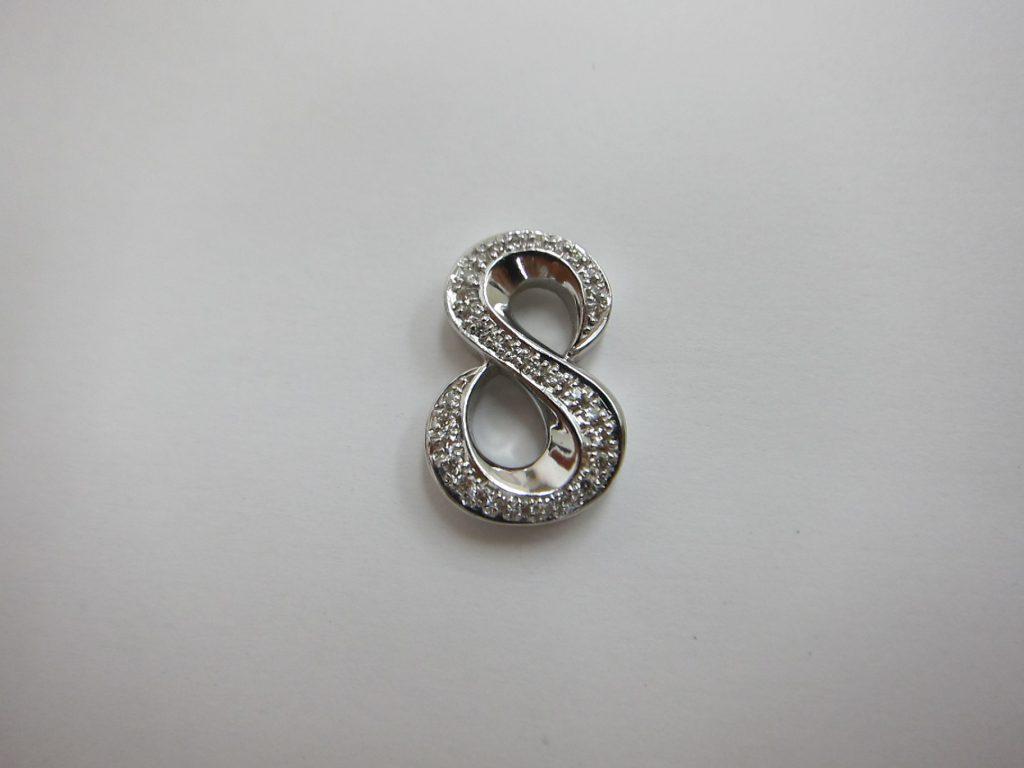 k18WG ホワイトゴールド ダイヤモンド ネックレス 買取