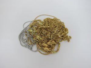 金 買取 K18 18金 ネックレス ブレスレット まとめて売却 高額査定