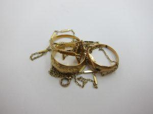 k18金 切れたネックレス 使わなくなったリング 買取