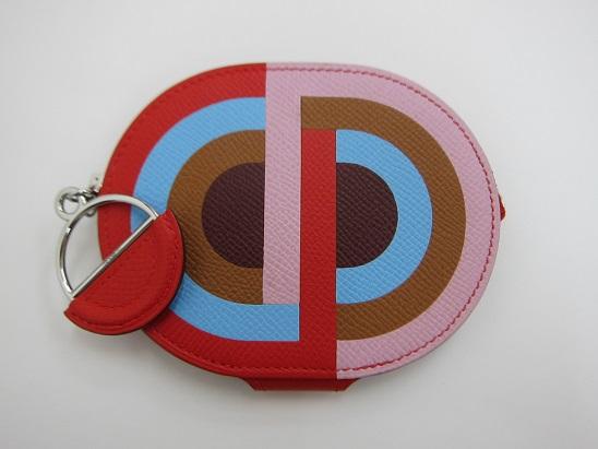 エルメス 買取 イン・ザ・ループ ミニ 財布 マルチカラー 19年製