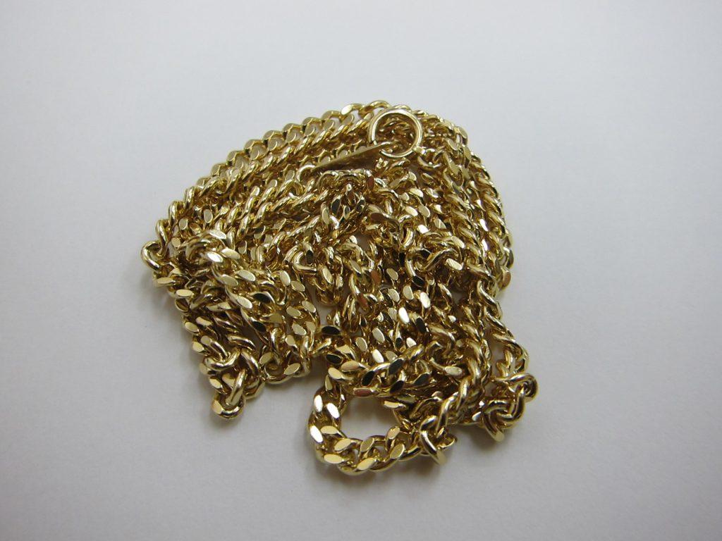 20g k18金ネックスレス 金プラチナ ネックレス 指輪 買取