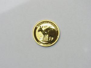 金 買取 999.9 オーストラリア カンガルー金貨1/4oz 25ドル 純金