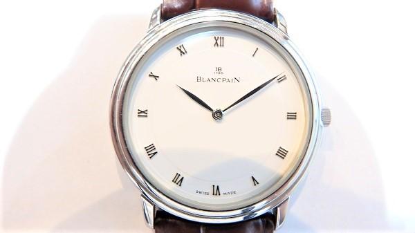ブランパン B0021.1127.55 ヴィルレ ウルトラスリム  手巻 買取